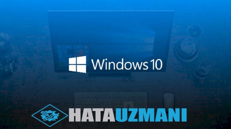 Windows 10 SFC aracı ile bozuk dosya onarma