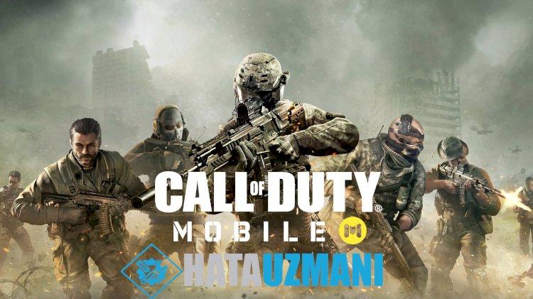 Call of Duty Mobile Hataları ve Çözümleri