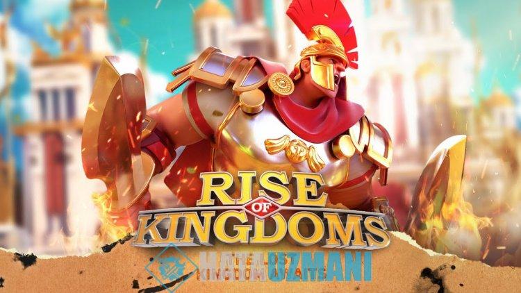 Rise Of Kingdoms Zaman Aşımına Uğradı Hatası