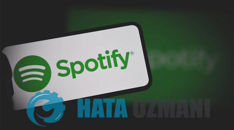 Spotify Kapanma Sorunu